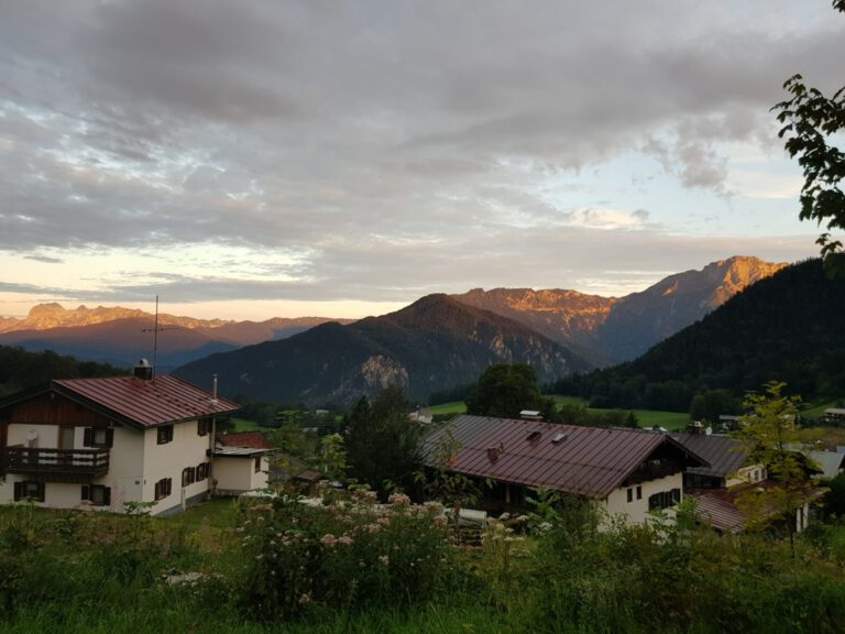 Kurzurlaub im Nationalpark Berchtesgaden
